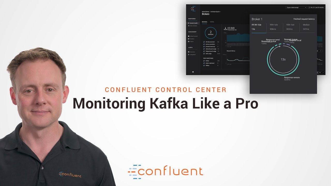Demo: Monitoring Kafka Like a Pro in Confluent Control Center (Overview)