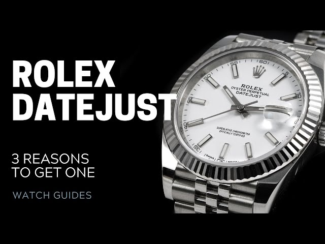 Rolex Datejust: 3 Reasons to Own One | SwissWatchExpo [Rolex Watches]