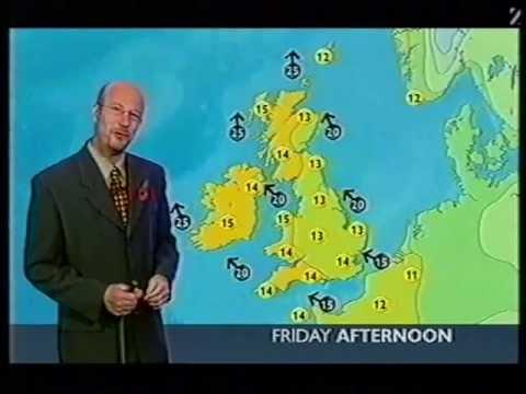 BBC Weather 6th November 2003: 18.8°C at RAF Northolt