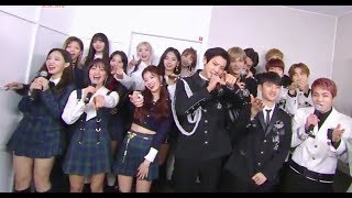 181116 TWICE & EXO Backstage Interview @ Music Bank