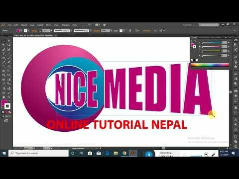 Logo Design Tutorial || Upcoming In Online Tutorial Nepal thumbnail