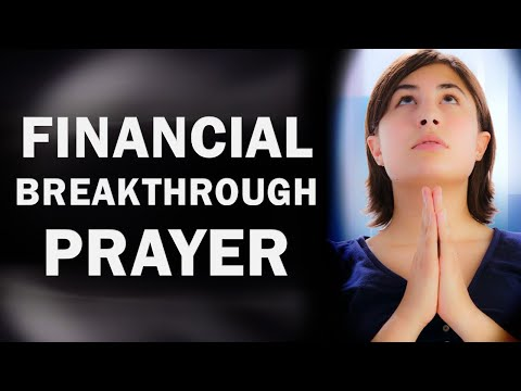 FINANCIAL BREAKTHROUGH PRAYER