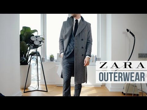 The Best Coats In Zara RIGHT NOW   Outerwear Inspiration   Men's Fashion