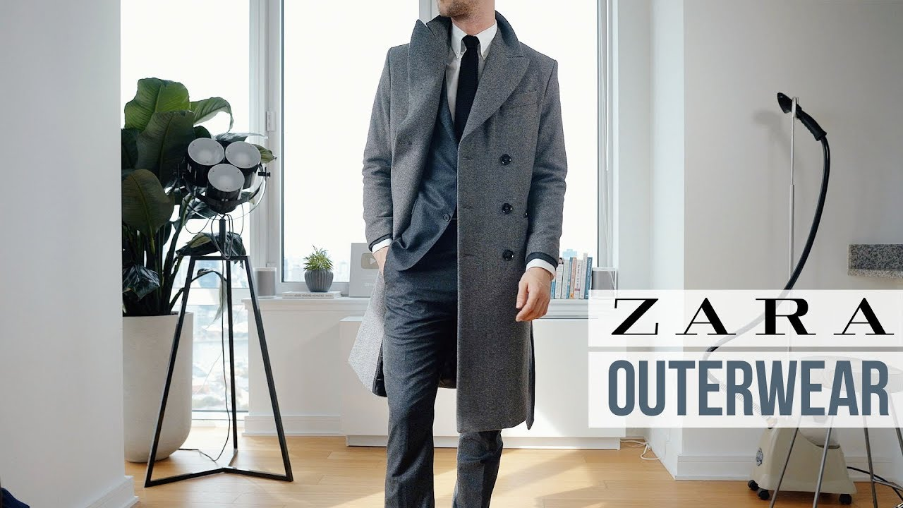 fd2796ff The Best Coats in Zara RIGHT NOW | Outerwear Inspiration | Men's Fashion.  One Dapper Street