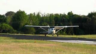 Marshall 1st Solo Landing (April 16th, 2011)