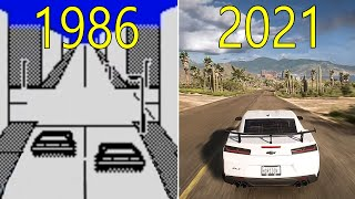 Evolution of Open World Driving Games