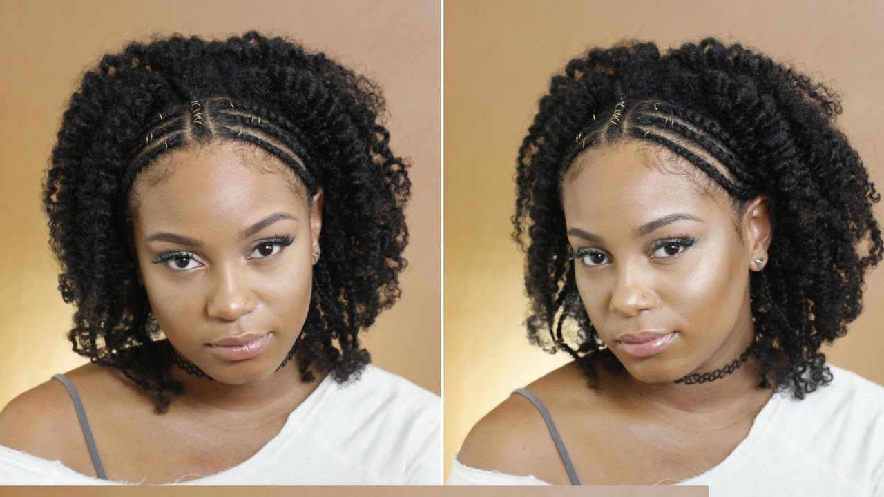 Latest Hair Styles Of Braids: Easy Fulani Inspired Braids Hairstyle