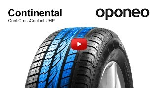 Tyre Continental ContiCrossContact UHP ● Summer tyres ● Oponeo™