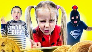 Three kids   Дети играют в супергероев   Сборник весёлых историй для детей