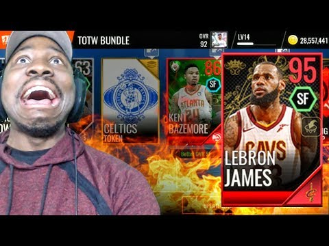 NEW 95 OVR LEBRON JAMES IN ROYALTY SET! NBA Live Mobile 18 Pack Opening Ep. 31