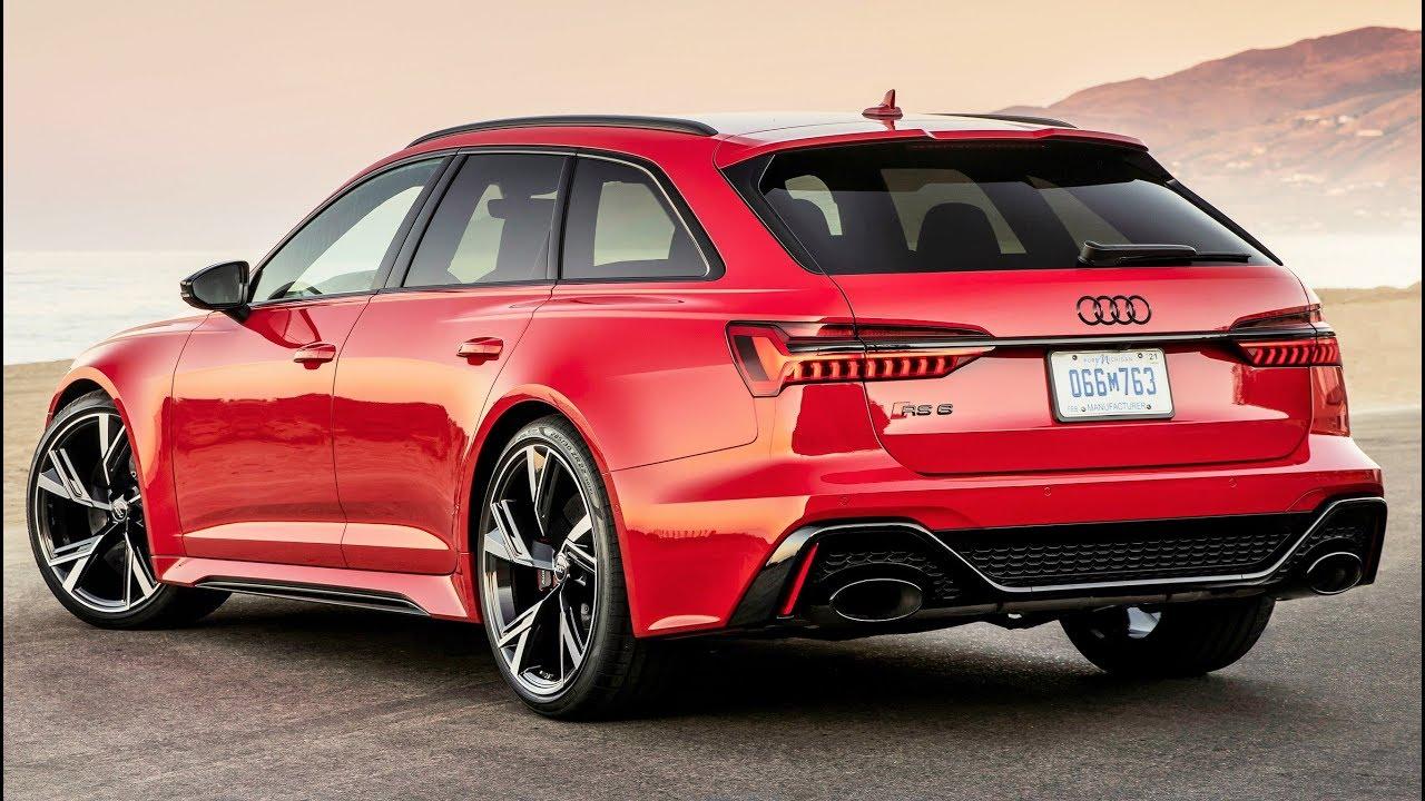 2020 Audi Rs 6 High Performance Station Wagon Youtube