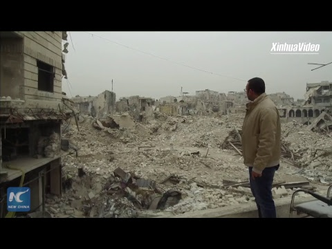 Inside Aleppo: the people attached to their land, despite destruction of war