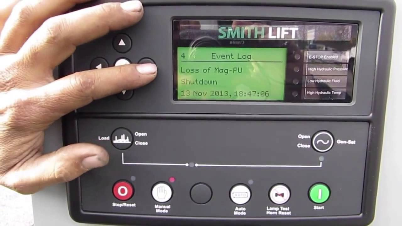 335 Wiring Diagram Digital Automatic Generator Controller Deep Sea Control