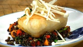 Miso-glazed Fish Recipe  - Chef Curtis Cooke - Golden Door Recipes