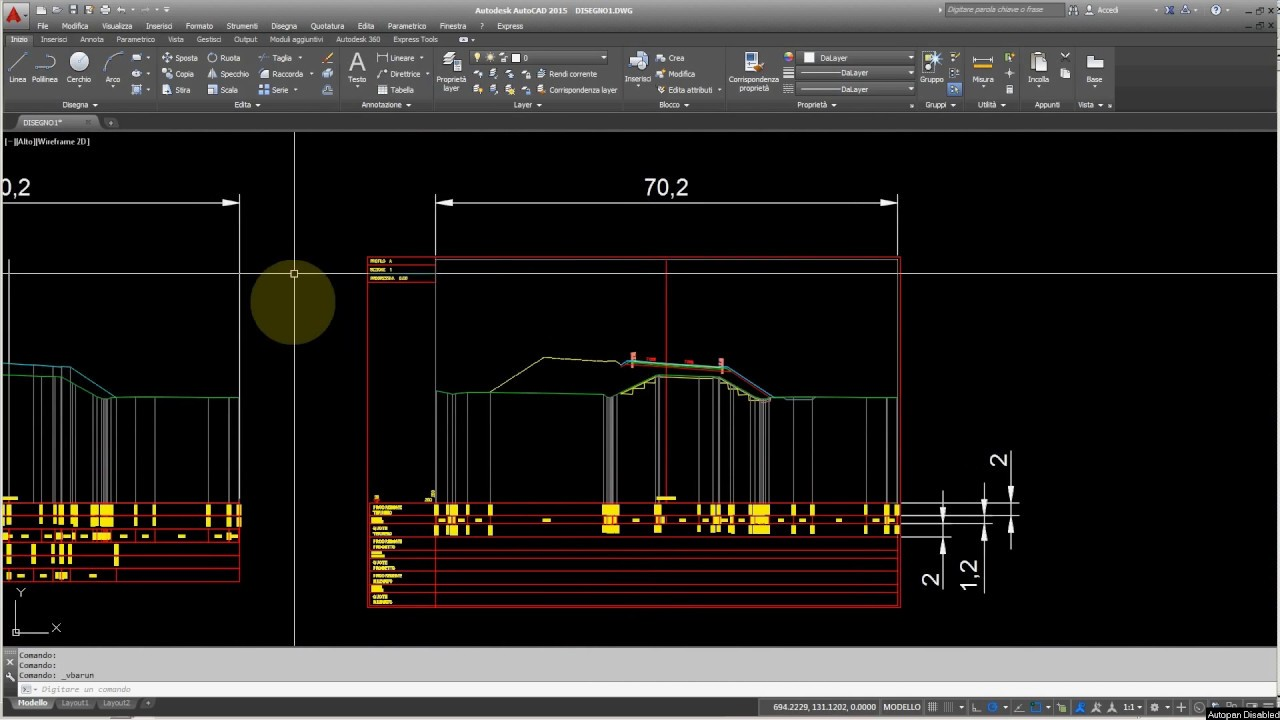 Programming - AutoCad programmare in VBA - DOWNLOAD FREE MACRO - Quota  sezioni