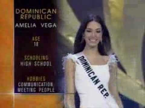 Miss Universe 2003 - Top 10 Finalists