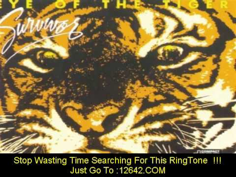 Eye Of The Tiger (Song With Lyrics) - YouTube