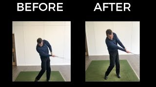 IMPROVE IMPACT POSITION IN GOLF SWING - MAGIC DRILL