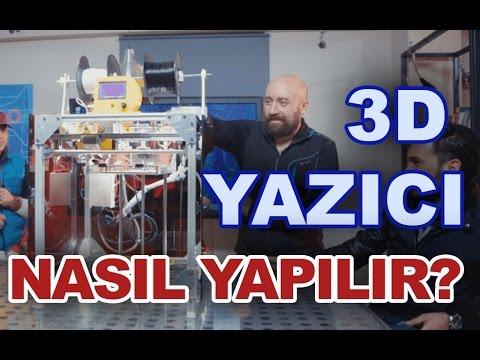 TÜRK İŞİ 1. Bölüm - Yeni Nesil Yazıcı (3D Printer) - HD (w/t ENGLISH SUBTITLES)