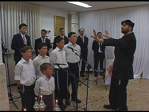 World cantor and Children Choir song