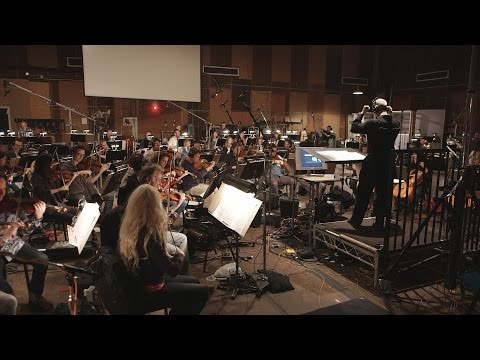 Peter Boyer Conducts the Hollywood Studio Symphony and Choir at Sony
