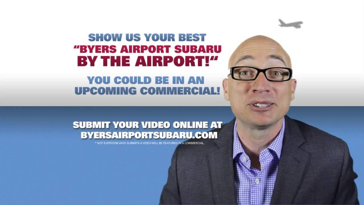 Byers Airport Subaru >> Byers Airport Subaru By The Airport Contest