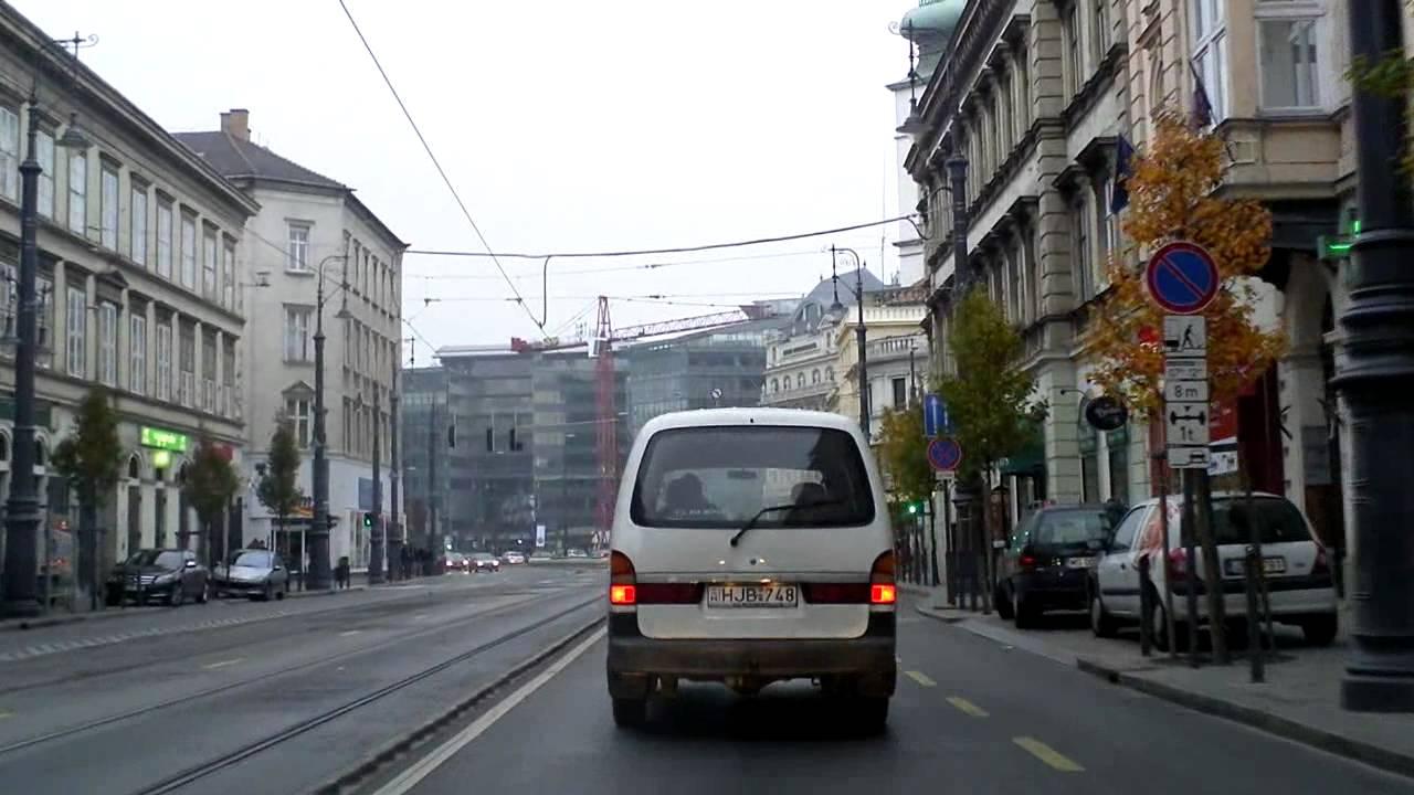 Budapest dashcam: Savoya Park - Egressy út