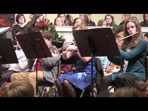 Augusta Christian Schools 2017 Christmas Concert HS Band