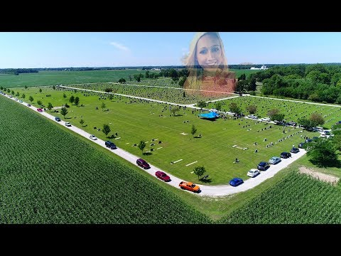 Lindsey Marie Howe Funeral Procession to Bunnell Cemetery Frankfort, Indiana