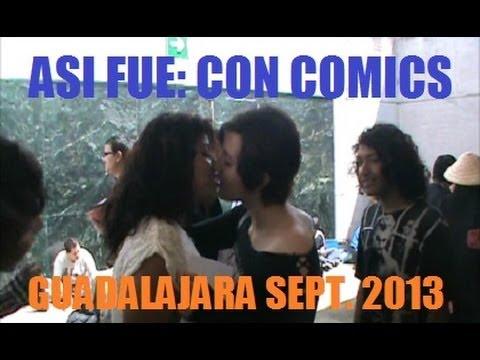 ASI FUE CON COMICS GUADALAJARA SEP. 2013