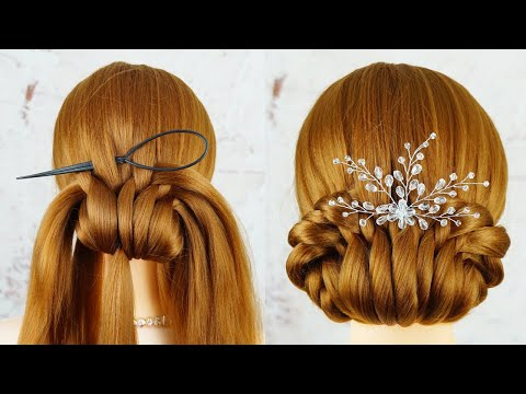 Hairstyles Tricks and Hacks - Quick & Easy Party Hairstyles | New Hairstyle - easy hairstyles