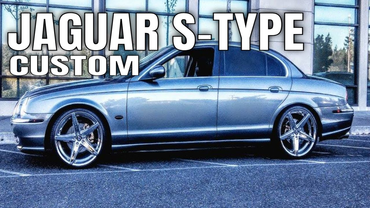 Jaguar S Type Lowered On 20 Inch Rims : 20s   YouTube