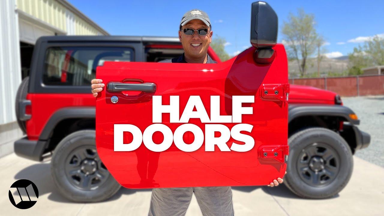 Half Door Installation on a Jeep JL Wrangler