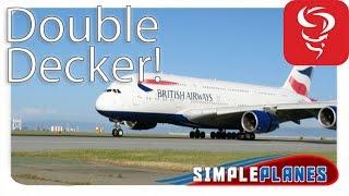 Huge Double Decked Plane! - Simple Planes (Showcase)