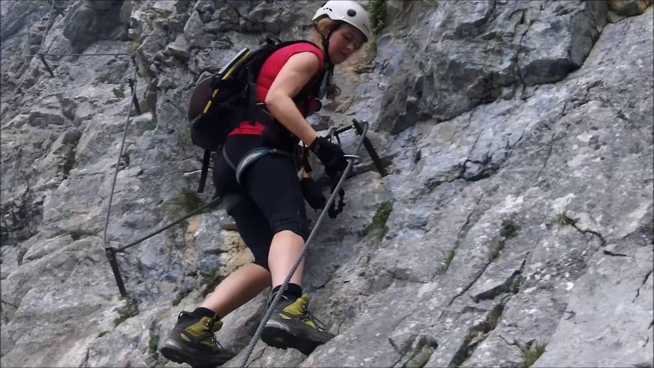Klettersteig Klamml : Klamml klettersteig youtube
