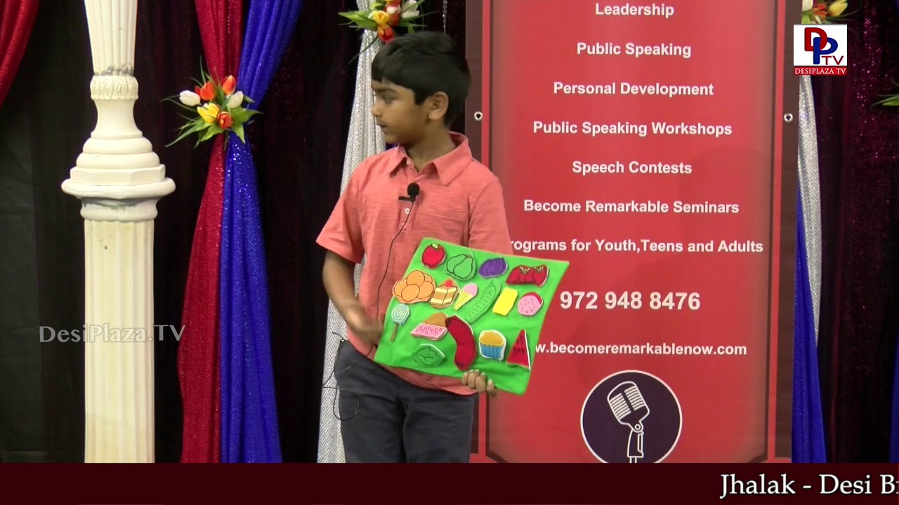 "Subo tells the story ""The Hungry Caterpillar"" at Talking Bee - Public Speaking Competitions - 2018"