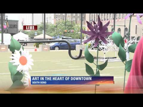 JP Live at Art Beat in Downtown South Bend