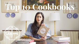 A Chef's 10 Favorite Cookbooks