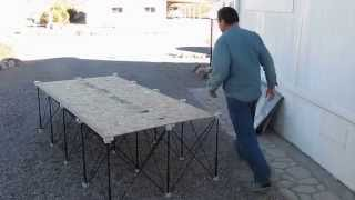 Throwing A 4' X 8' Sheet Of Plywood On A Centipede Support Xl