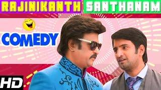 Lingaa Tamil Movie Comedy Scenes | Rajinikanth | Anushka | Sonakshi | Jagapathi Babu | Brahmanandam