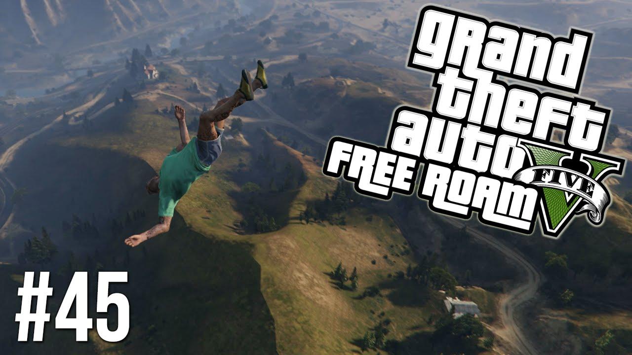 gta v ps4 free fall