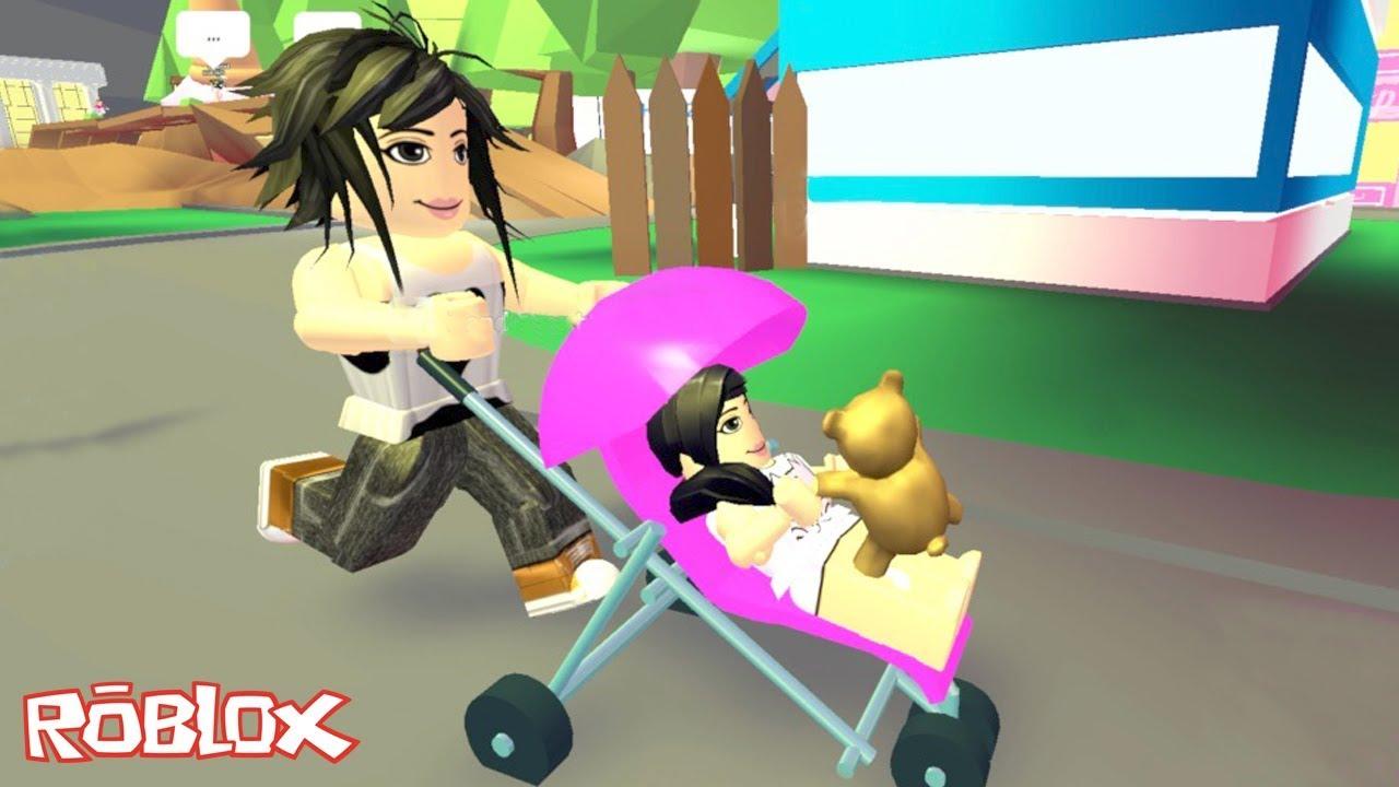 Roblox Me Adota Mamae Adopt Me Luluca Games Youtube