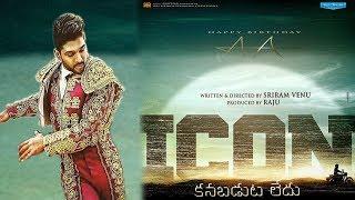 Allu Arjun Icon Movie updates   Allu Arjun New Movie Icon Motion Teaser   Venu Sriram   Get Ready
