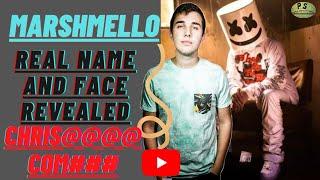 Marshmello Face Reveal | Marshmello Real Name & Revealed | #marshmello #whatsappstatus  #shorts