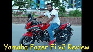 Yamaha Fazer Fi v2 bike Review 😎😎😍