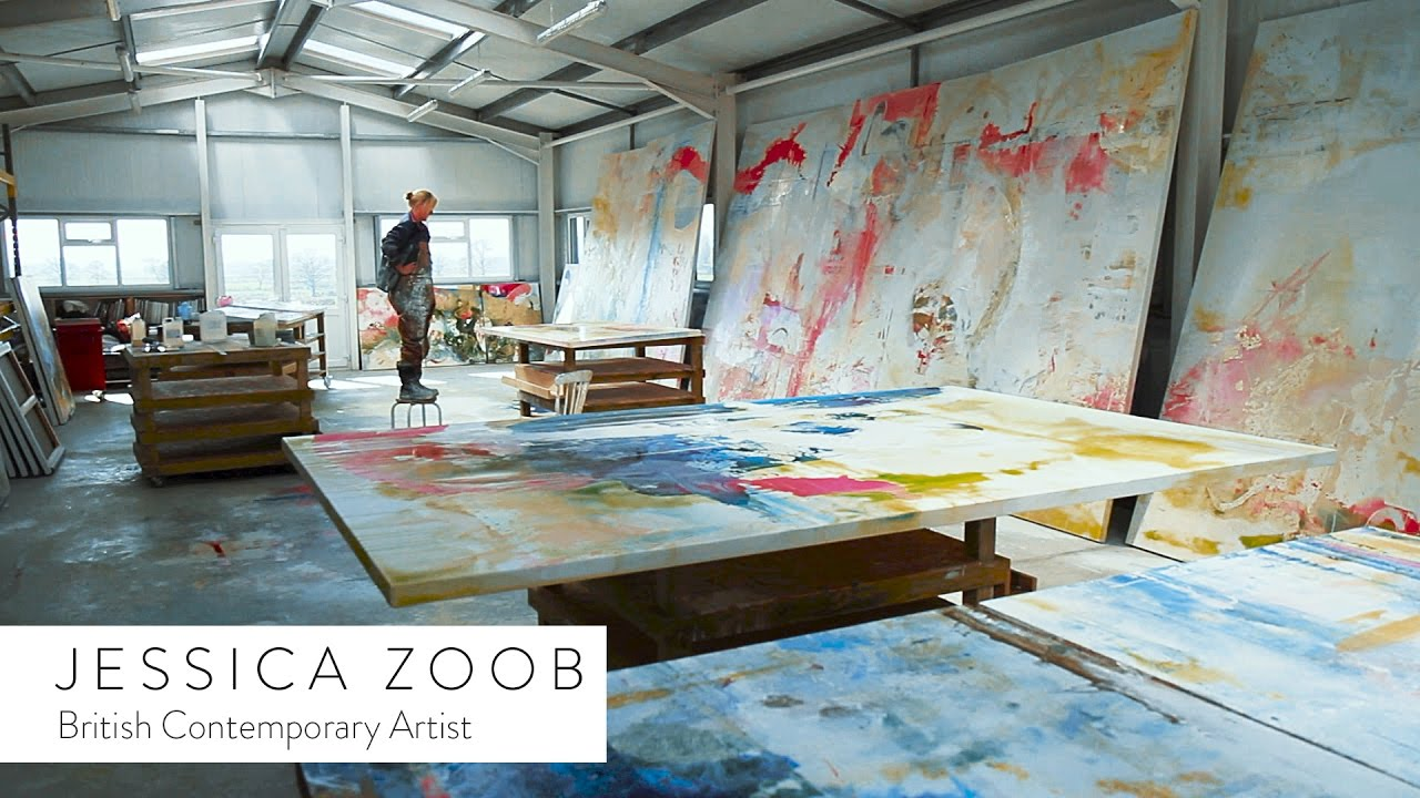 Contemporary Art Calendar Uk : British contemporary artist jessica zoob youtube