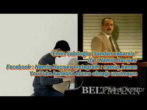 Namiq Hacıyev (cover Piano) - Səndən Xəbərsiz Televiziya Tamaşasından Soundtrack Bəs:Emin Sabitoğlu