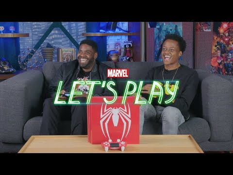 Swinging through NYC with Ron Funches | Marvel Let's Play