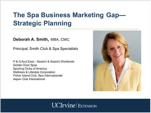 spa business planning