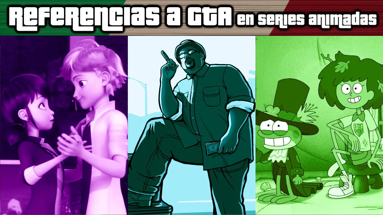 REFERENCIAS A GRAND THEFT AUTO EN SERIES ANIMADAS